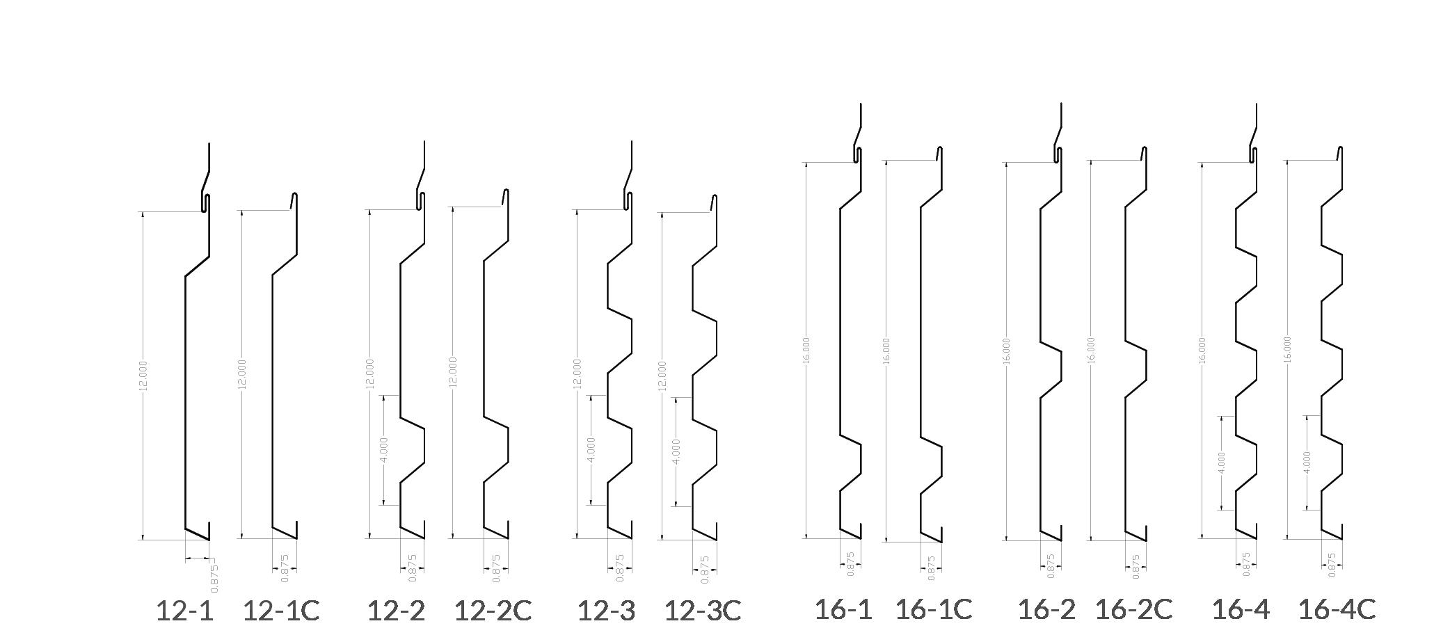 Fabral Silhouette Hcf Series