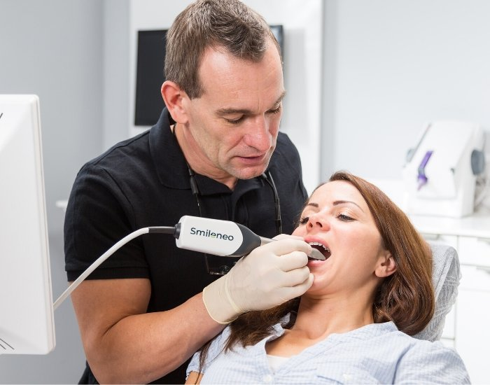 Invisible Braces 3D Intraoral Scan