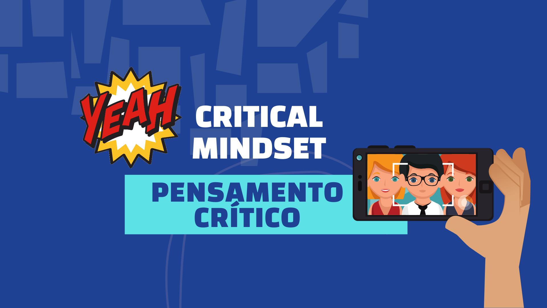 Critical mindset - pensamento critico imagem