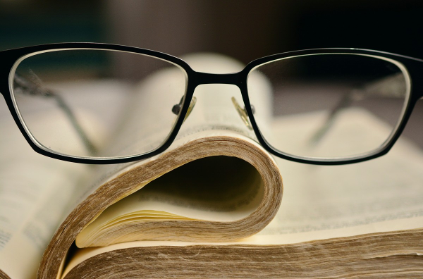 scholarship glasses book