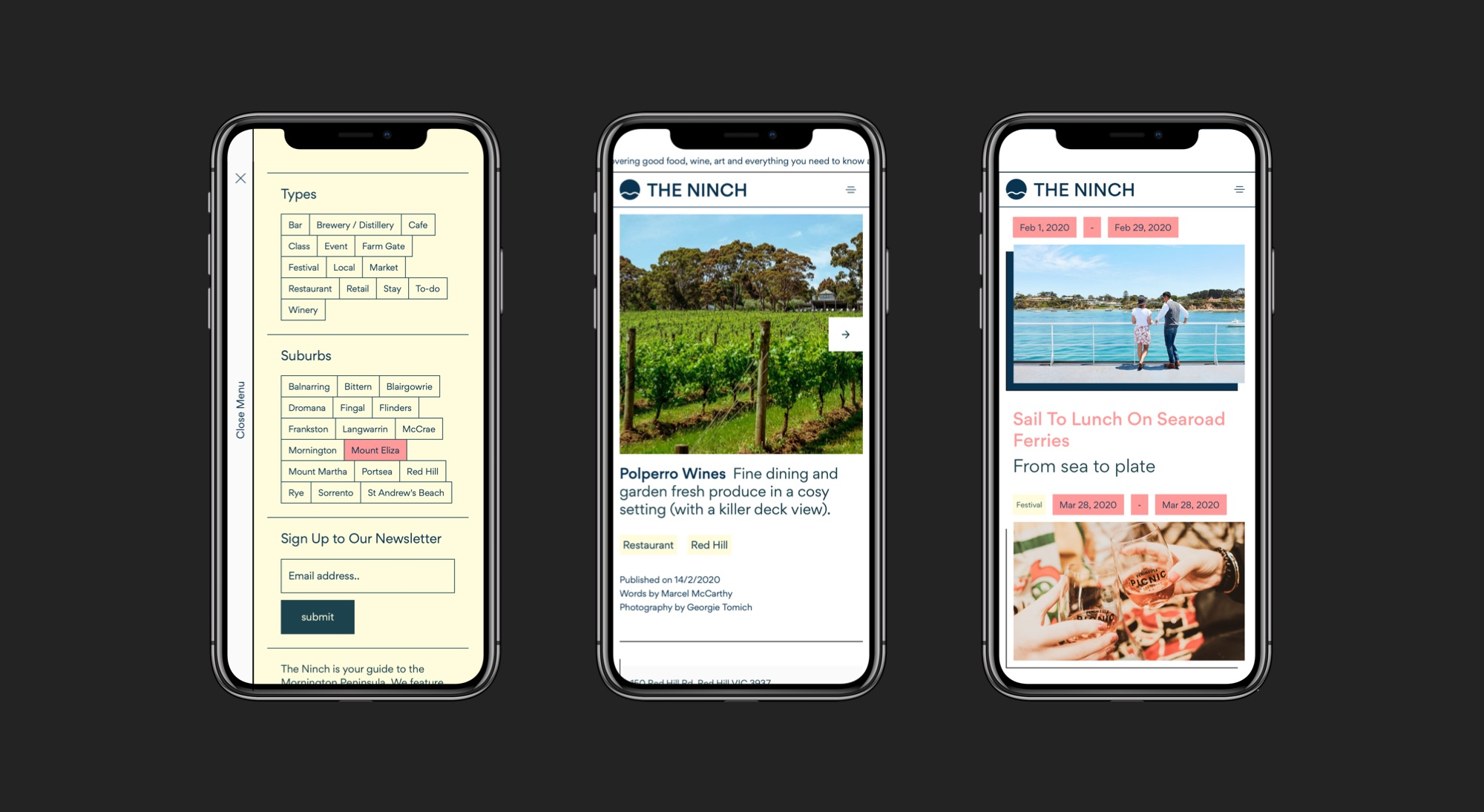Custom Websites / ONETOO - Mornington Peninsula