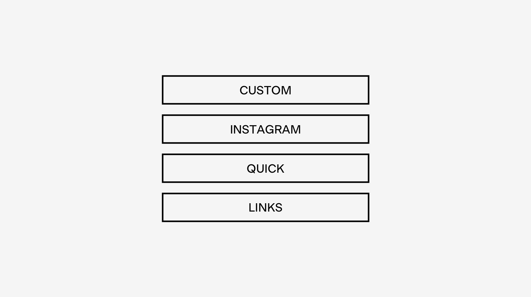 Build Your Own Instagram Quick Links Page