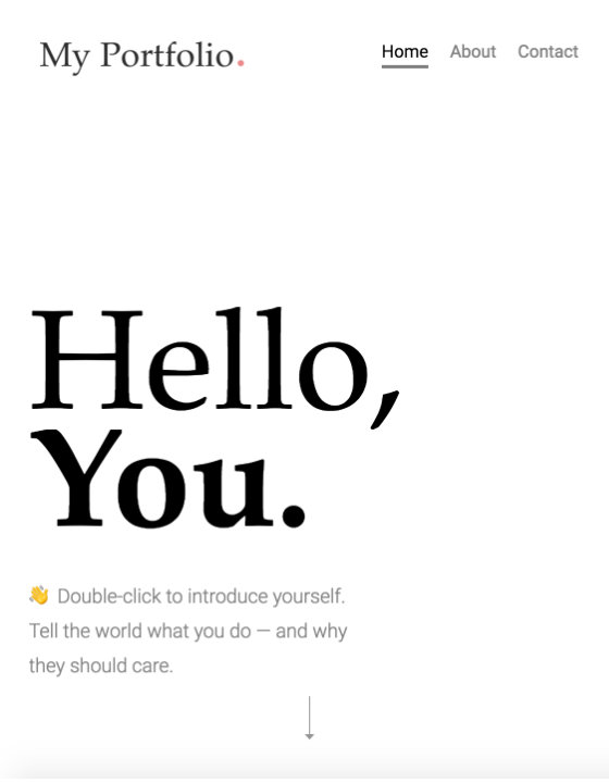 Uncommon is a modern, responsive, and fully dynamic portfolio template perfect for all creatives.