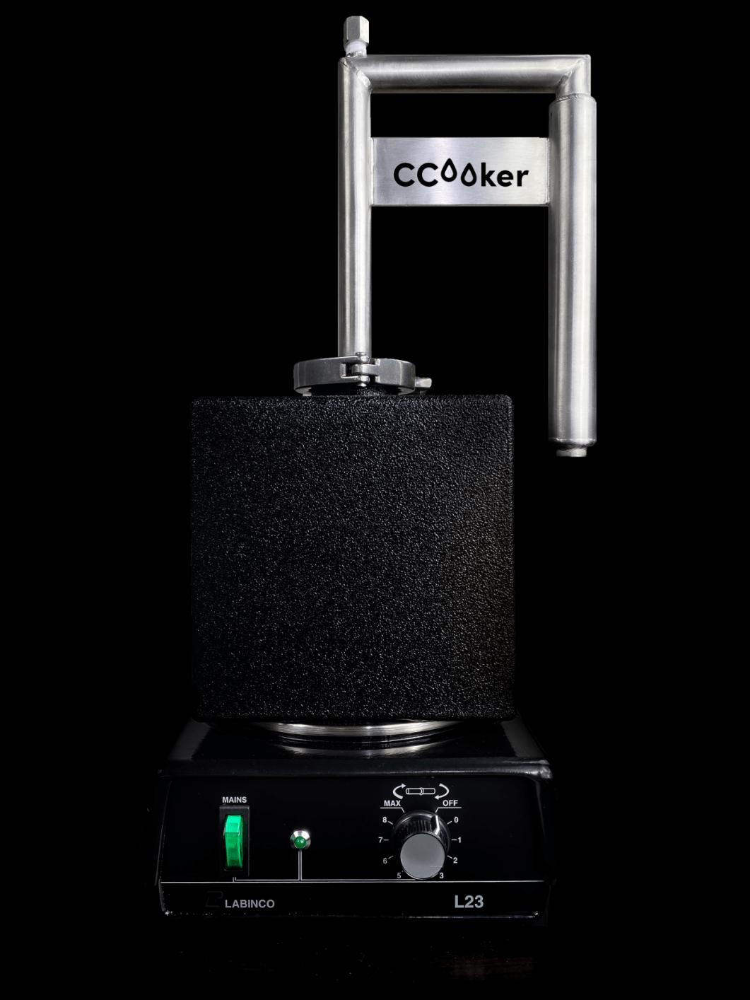 CocktailCooker on heater
