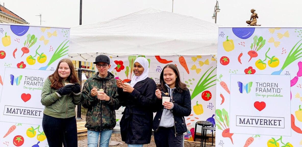 Thoren Framtid och Matverket arrangerade matfestival i Falköping