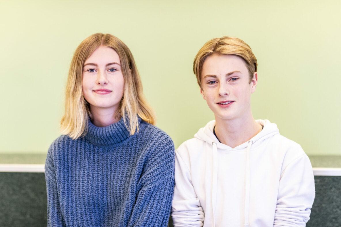 Nora och Gabriel berättar om Thoren Framtids profiler