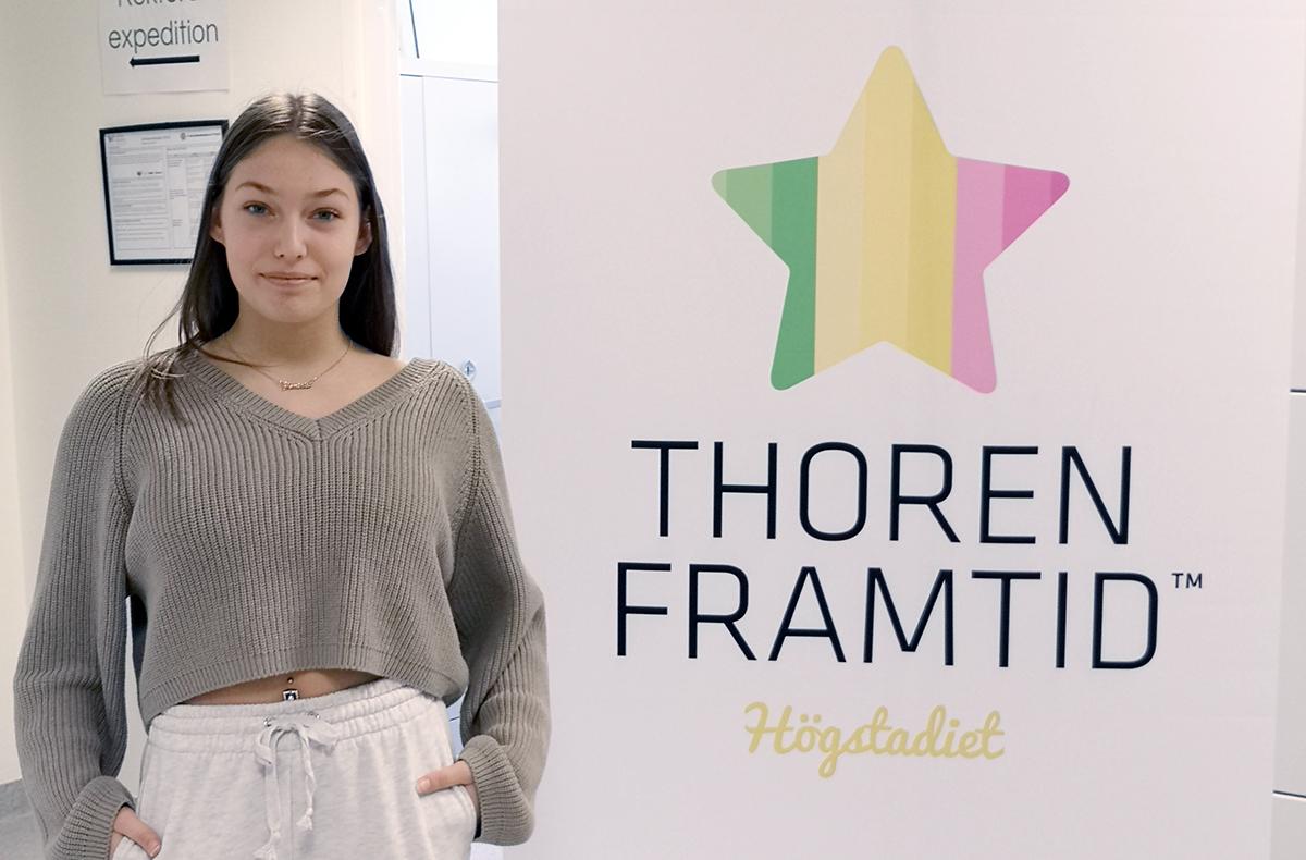 En skola med gemenskap fick Sara att välja Thoren framtid