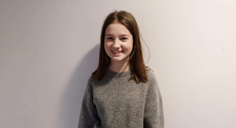 Maja är redo för nya utmaningar på gymnasiet