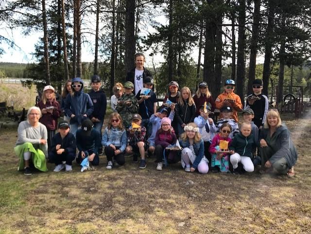 Nu seglar Thoren Framtid Vita Viddernas projekt längs med Torneälven