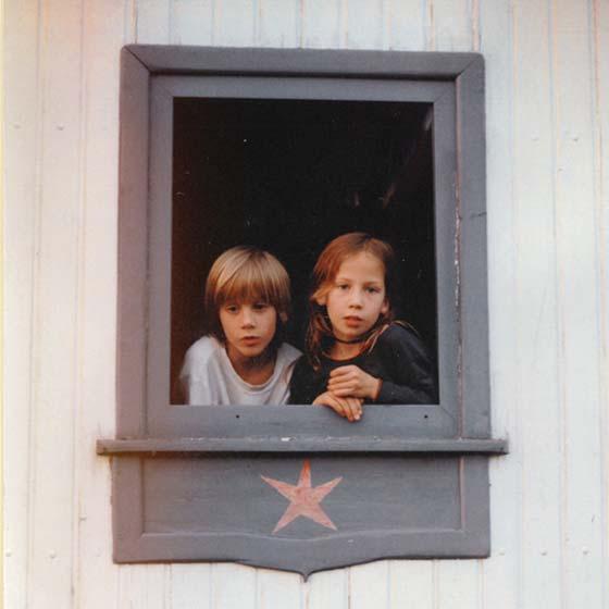 KAYAM childhood portrait together