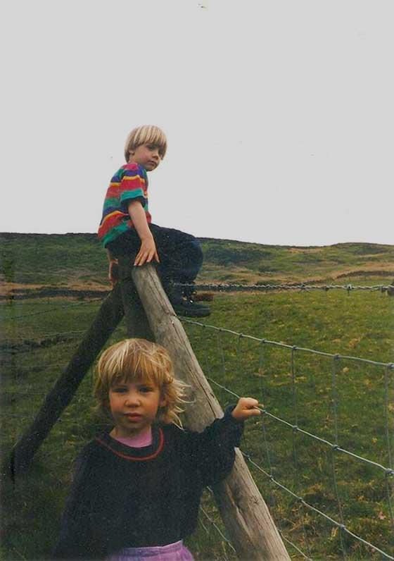 childhood fence
