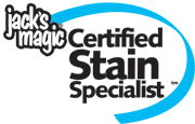 Pool Referees is a Jack's Magic Certified Stain Specialist