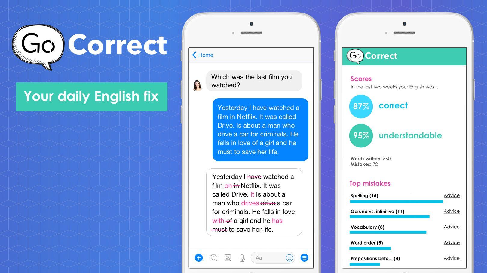 go correct chatbot