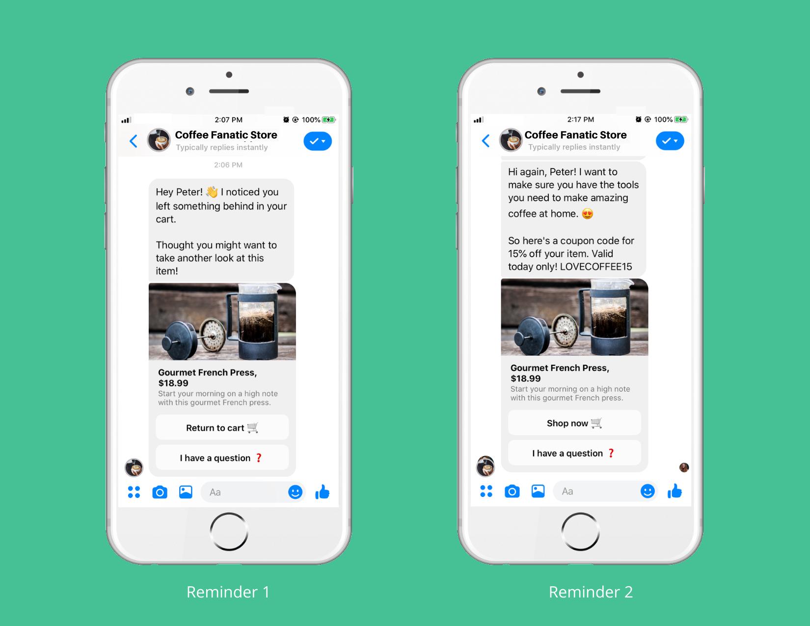 Cách tối đa hóa lượt chuyển đổi giỏ hàng bằng Chatbot