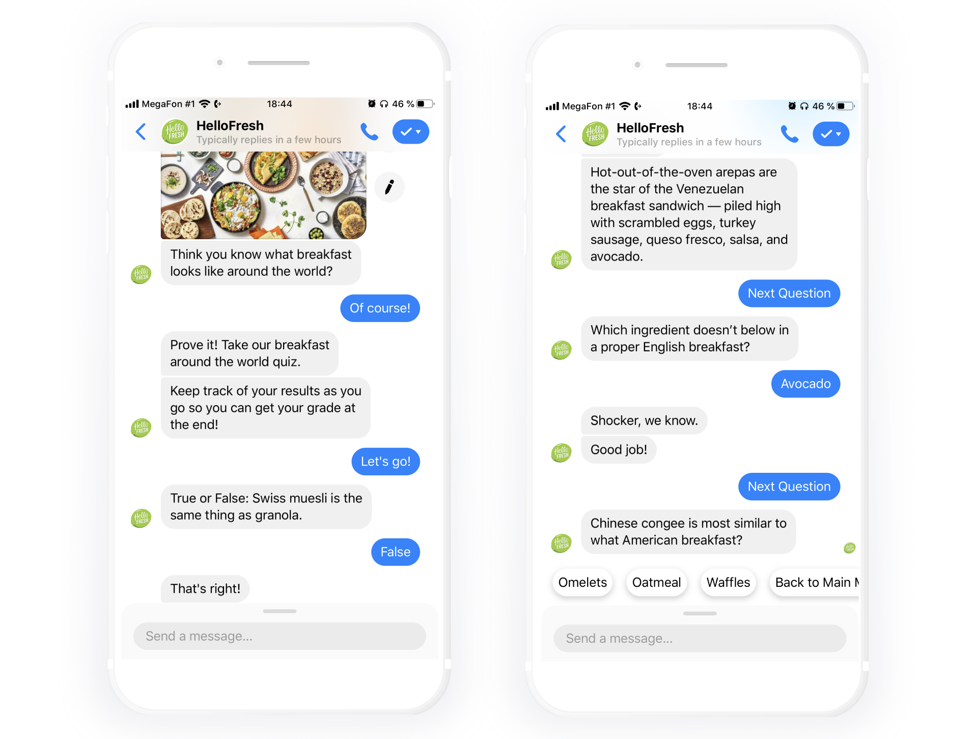HelloFresh Reduces Support Wait Times With Chatfuel Messenger Bot