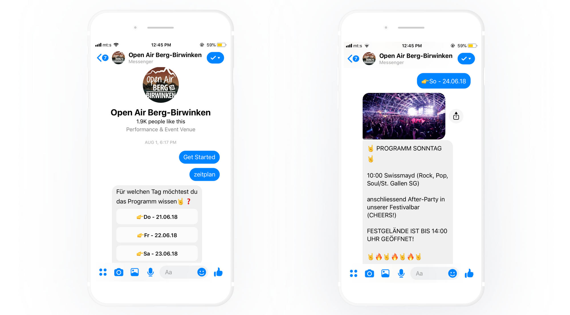 Music Festival Cuts Cost per Lead by 7x With Chatfuel Bot