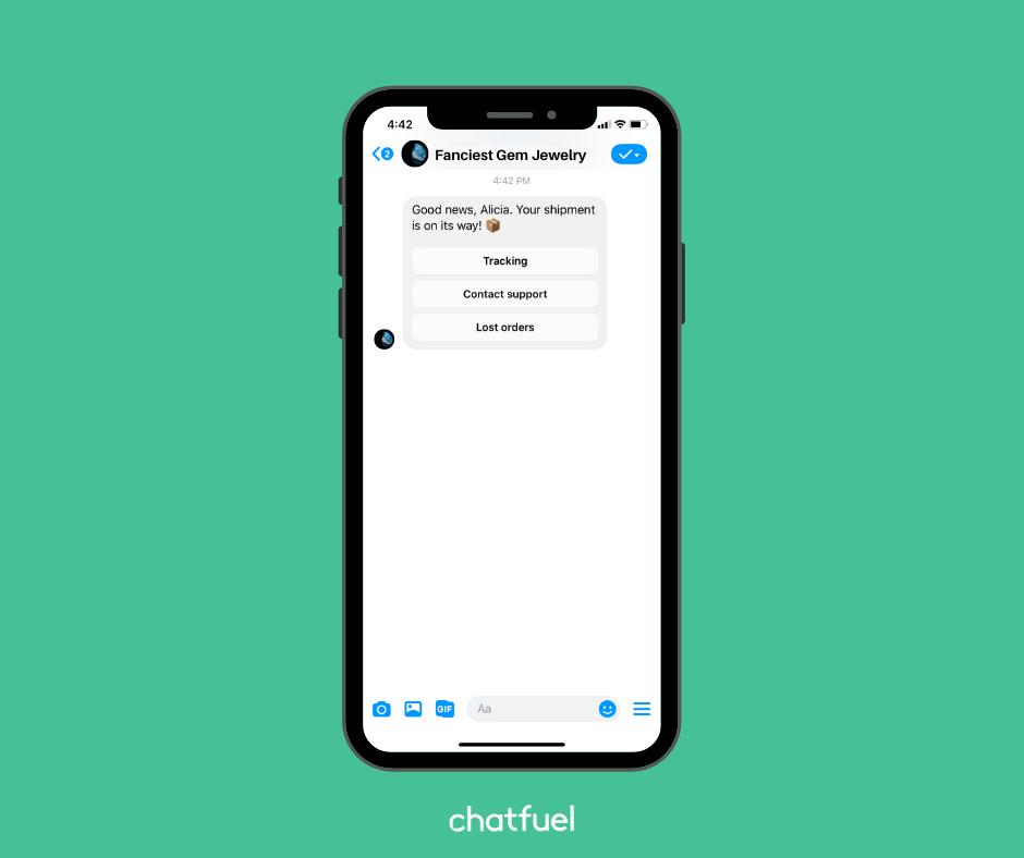 Liên kết chatbot với cửa hàng Shopify của bạn
