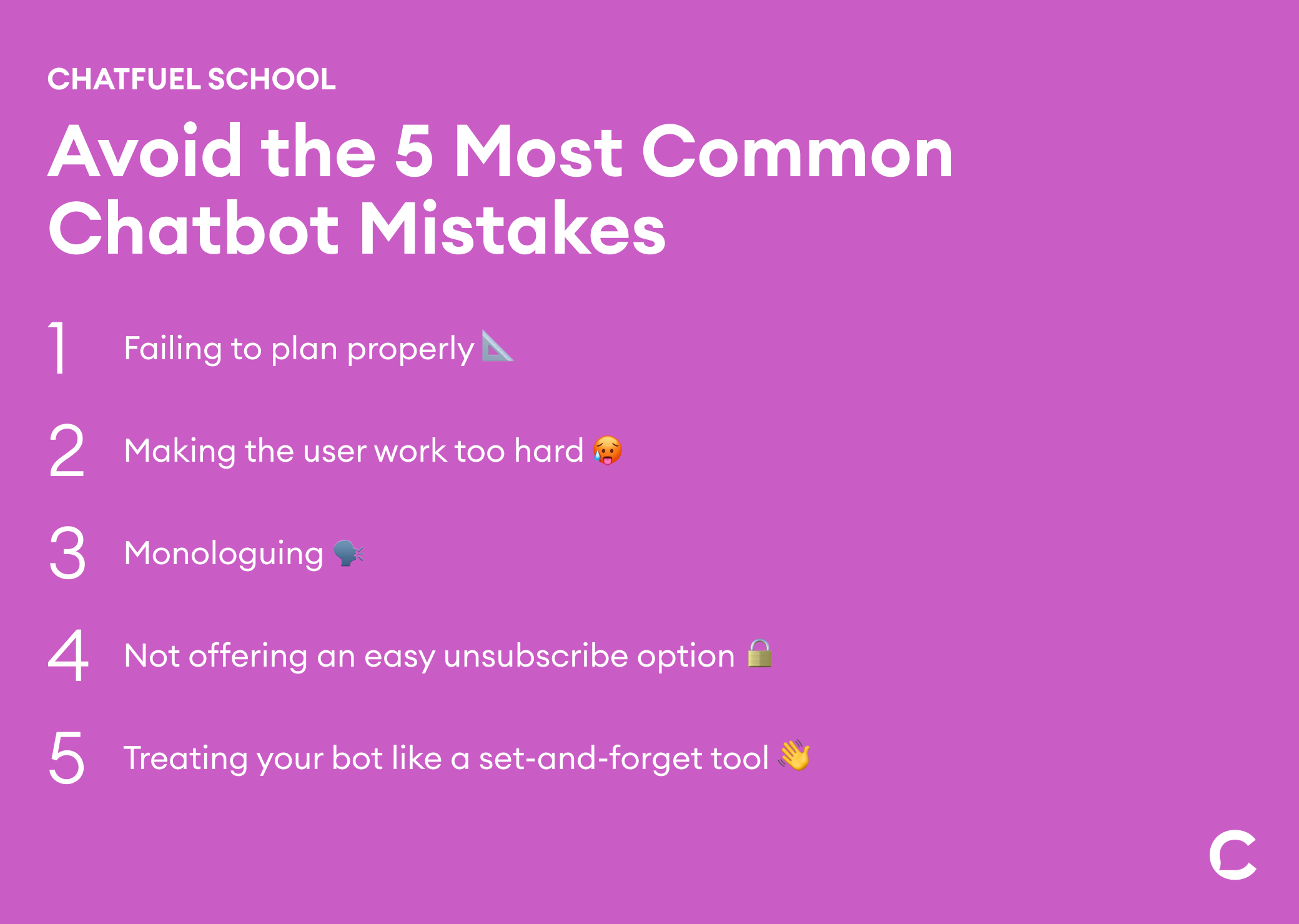 chatbot mistakes