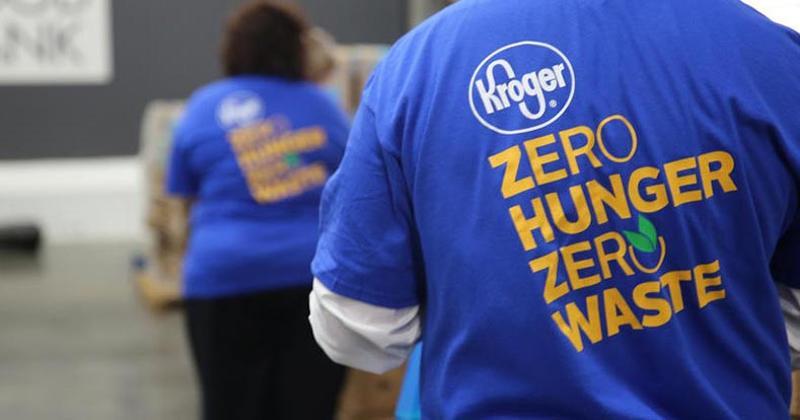 Kroger Zero Hunger Waste Social Responsibility Effort