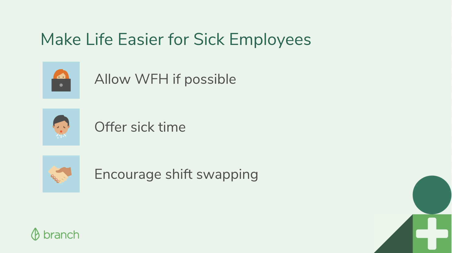 Ways to Make Life Easier for Sick Employees