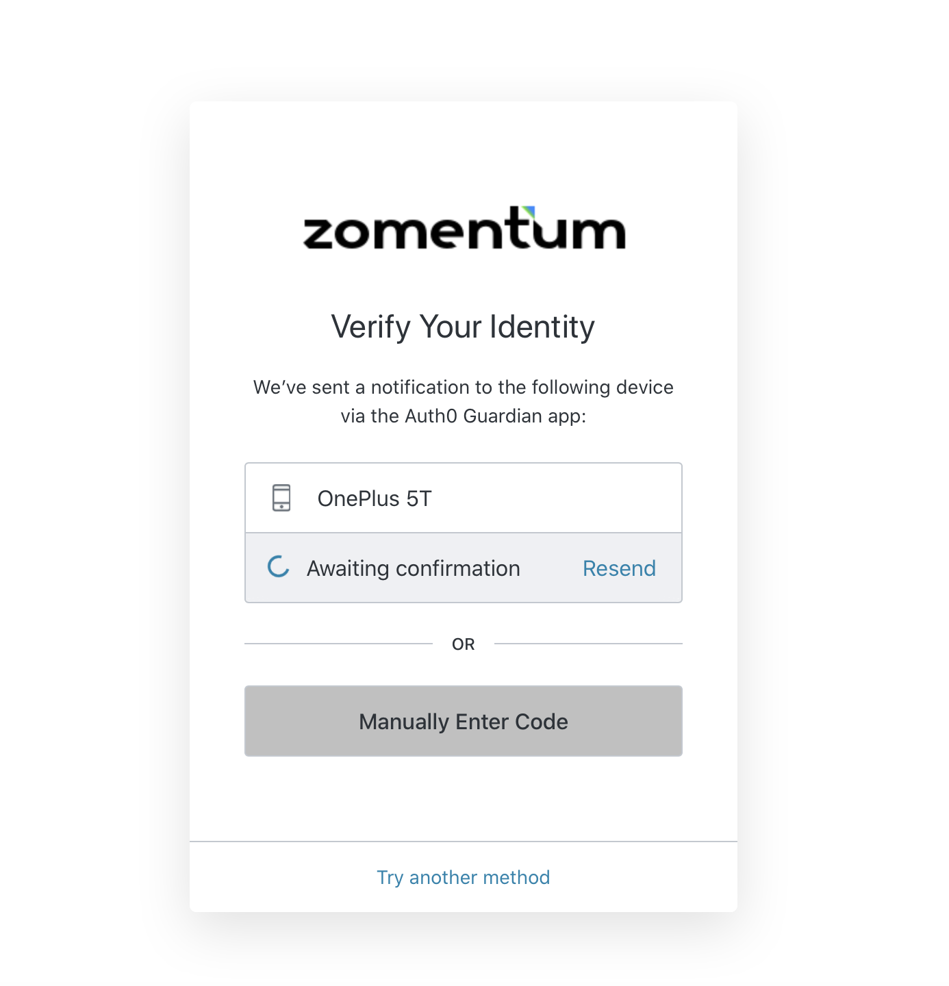 More security with Two-Factor authentication