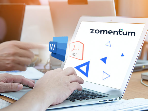 How To Import Word & PDF Documents Into Zomentum's Proposal Template