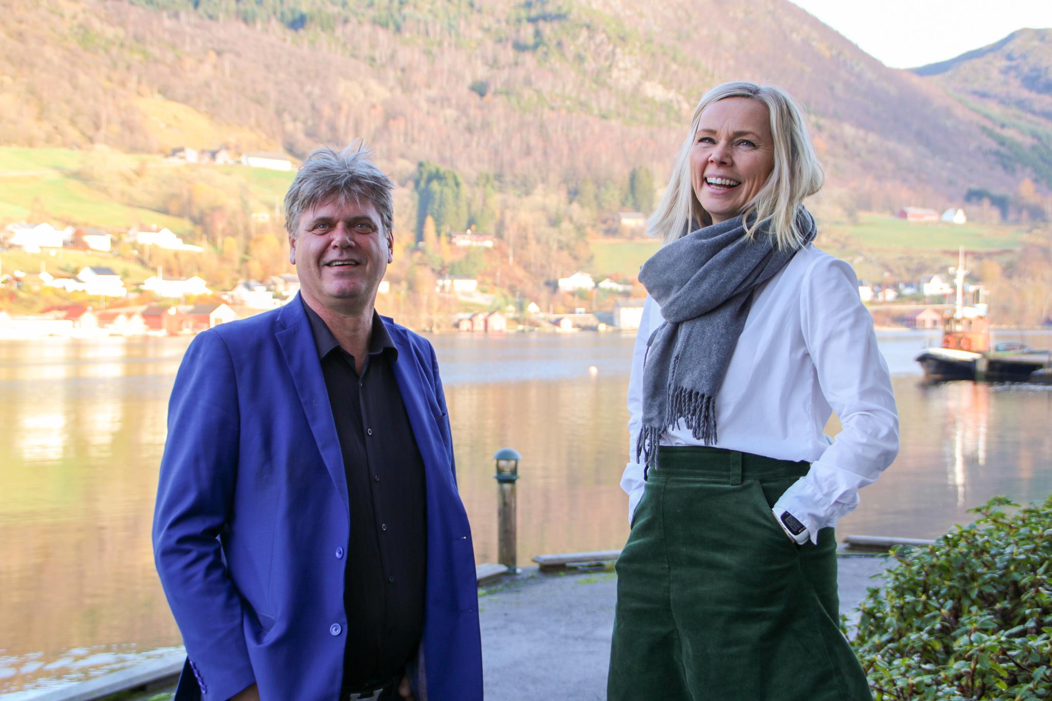 Bilde av Merete Vårvik Matre og Nils Einar Steinstø