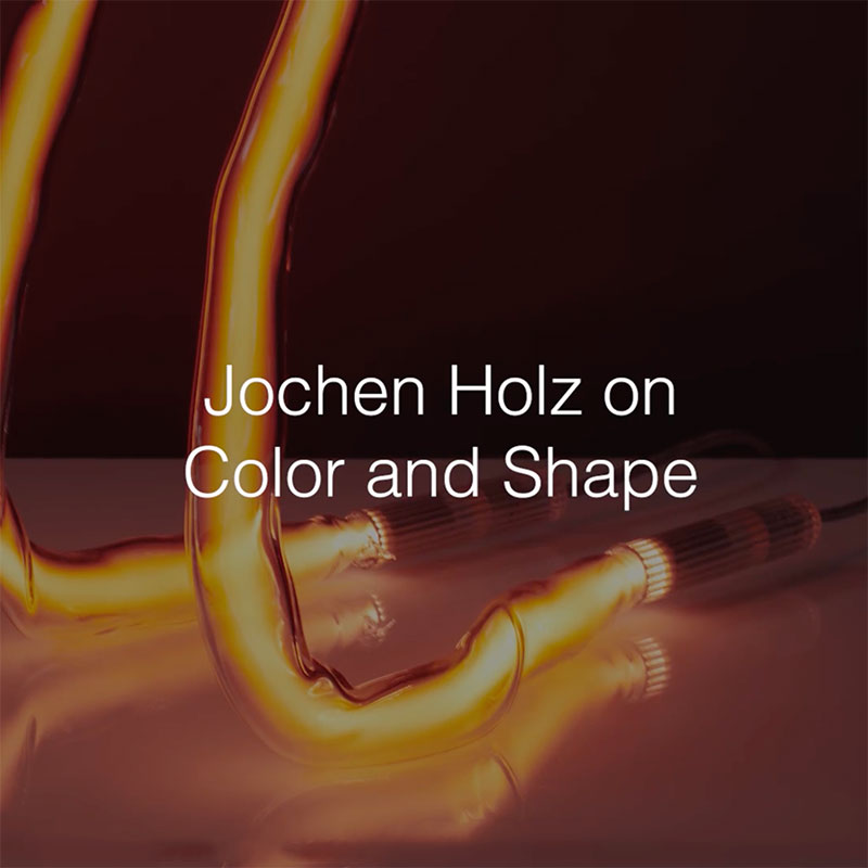 Jochen Holz on Color and Shape
