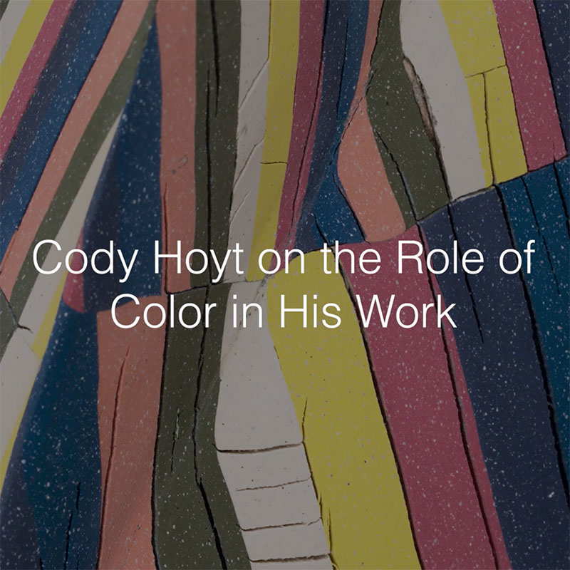 Cody Hoyt on the Role of Color in His Work