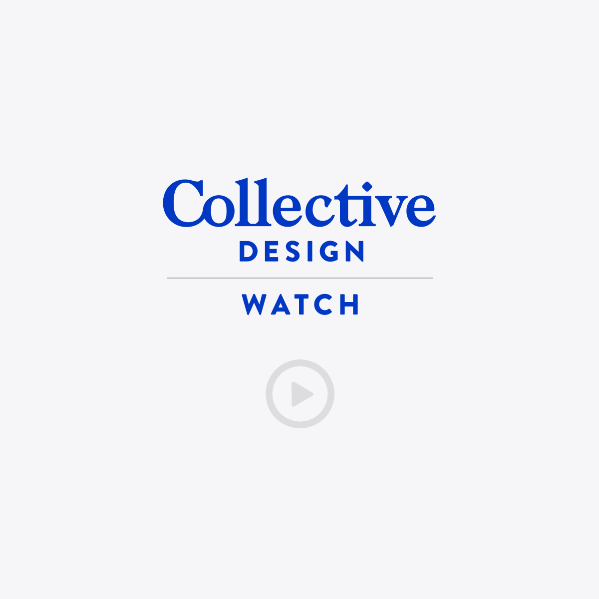 Collective Design - Watch