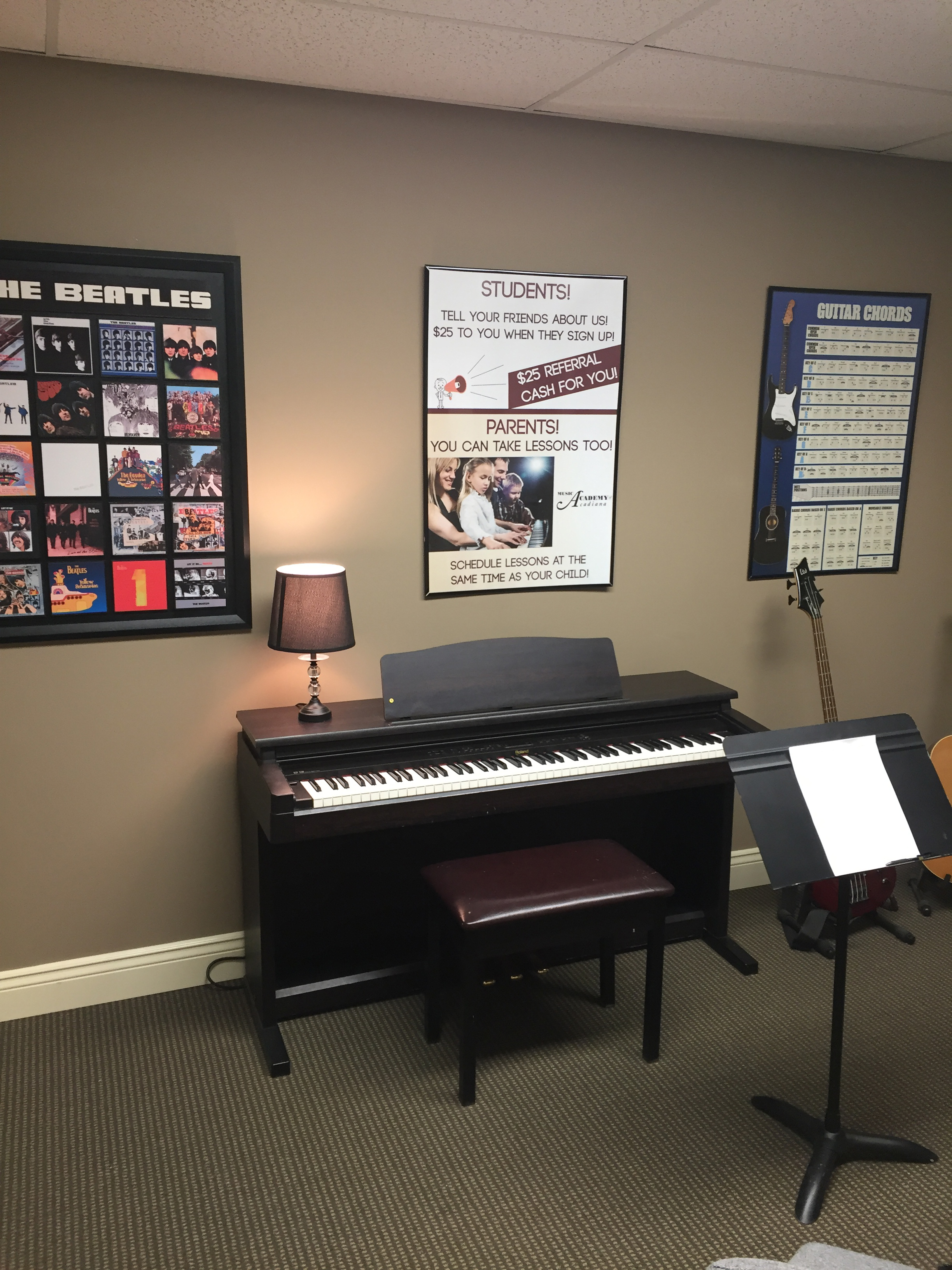 piano lessons all ages in Lafayette LA