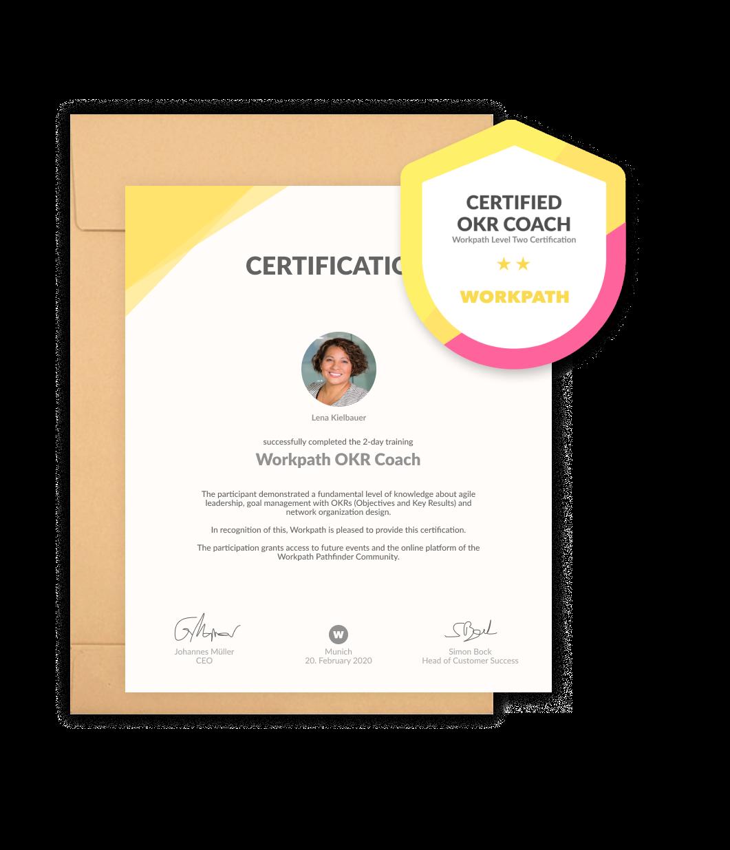 OKR Coach certification