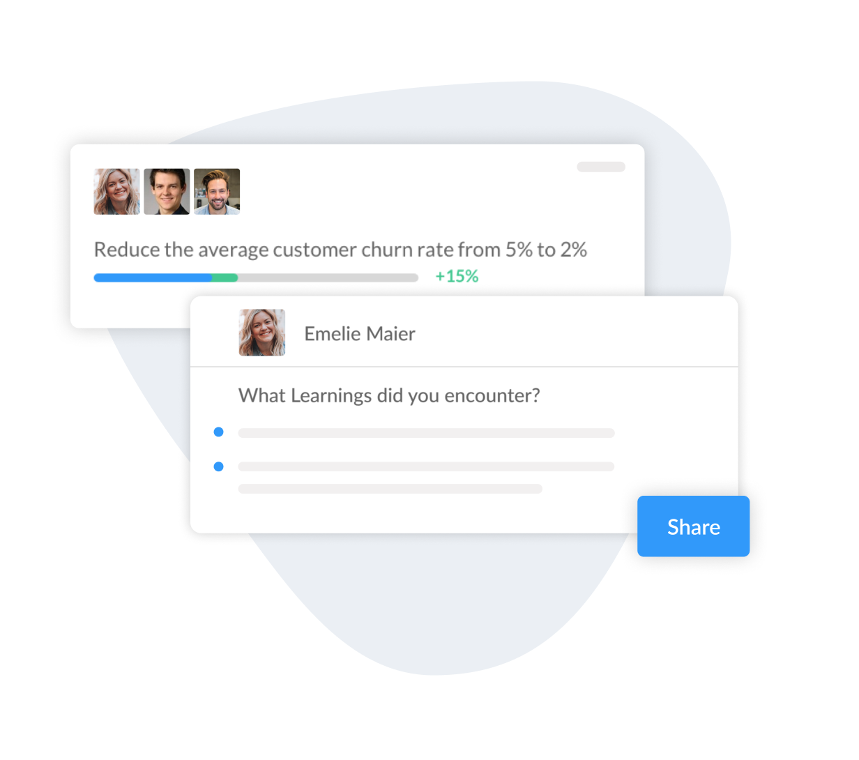 OKR Check-in Template