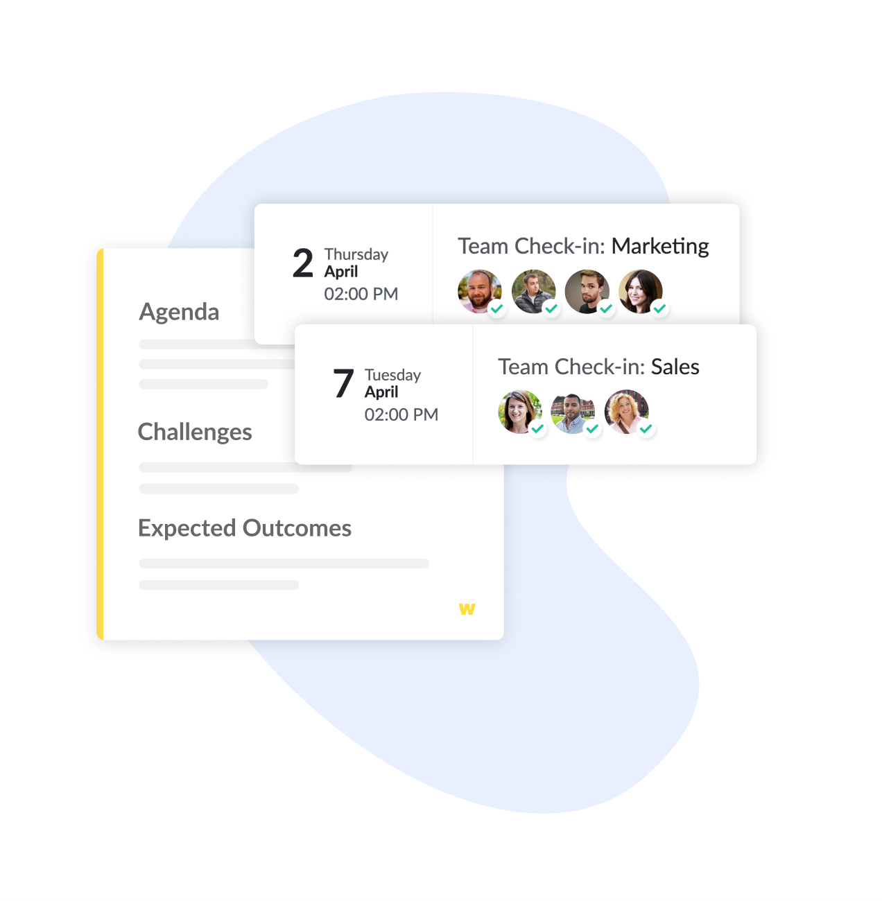OKR Check-in Meetings