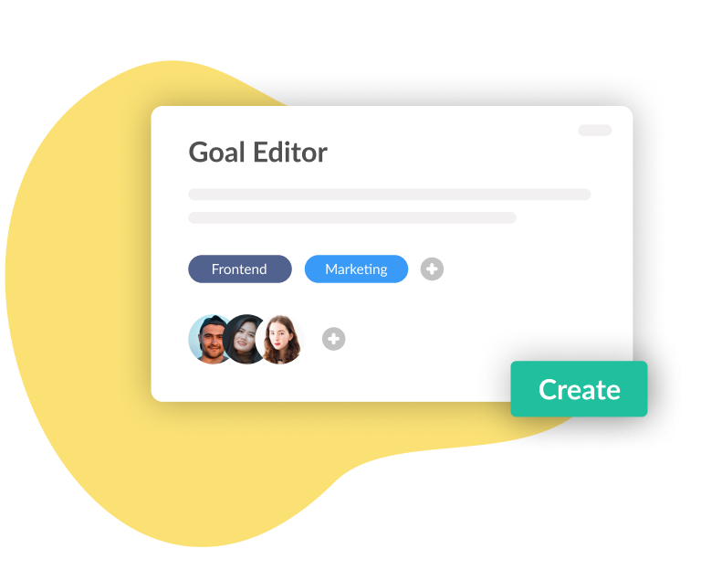 Workpath Product Preview Goal Editor