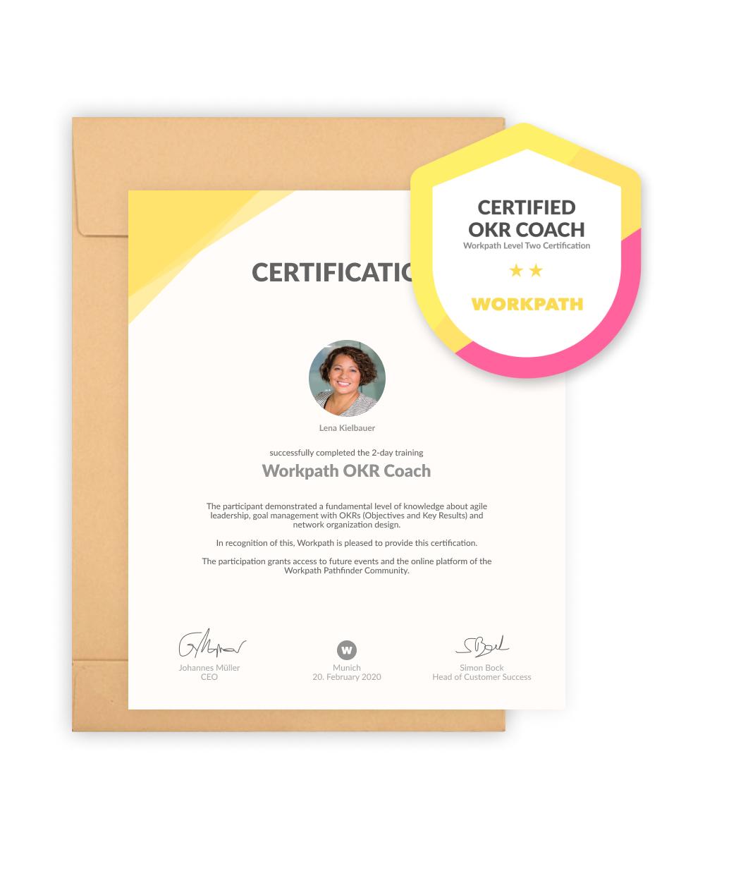 certified OKR coach
