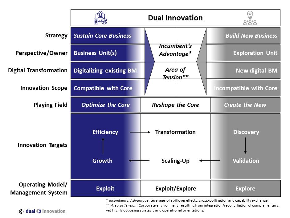Die Dual Innovation Matrix
