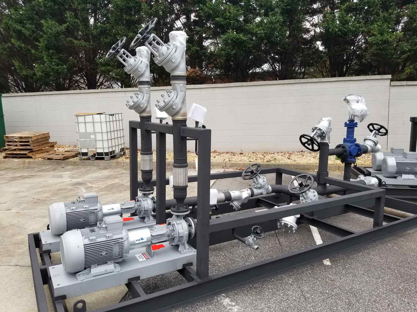 Duplex Secondary Loop Pump Skid