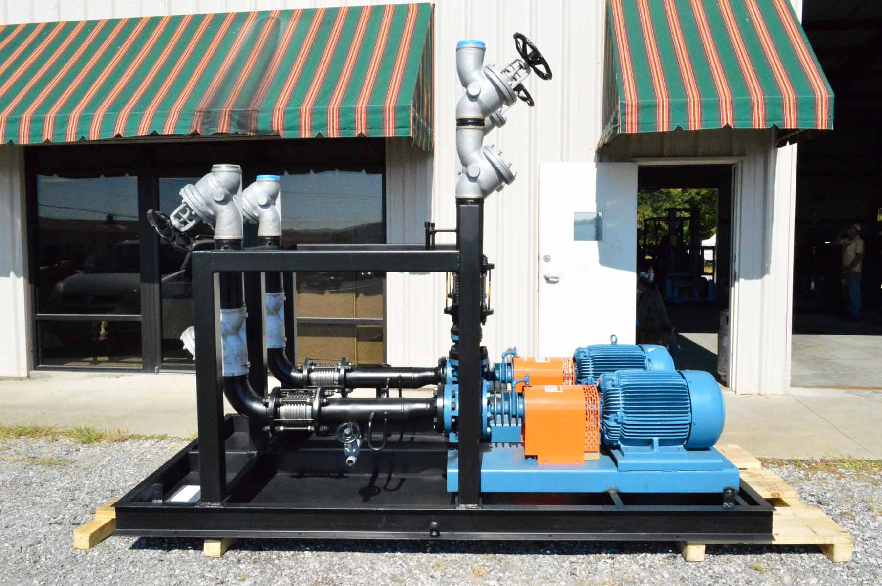 Duplex Hot Oil Primary Pump Skid