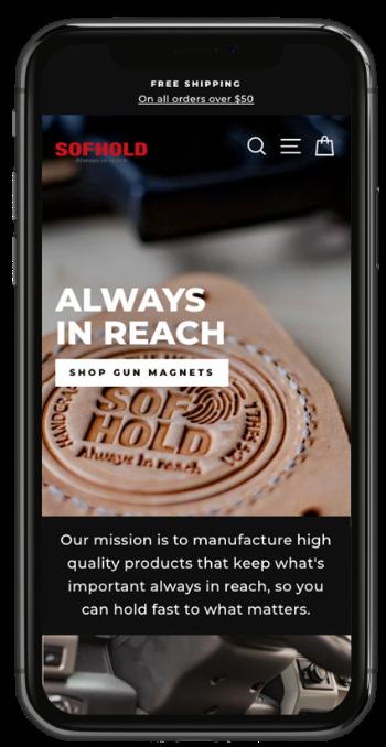 Custom Shopify Ecommerce Website