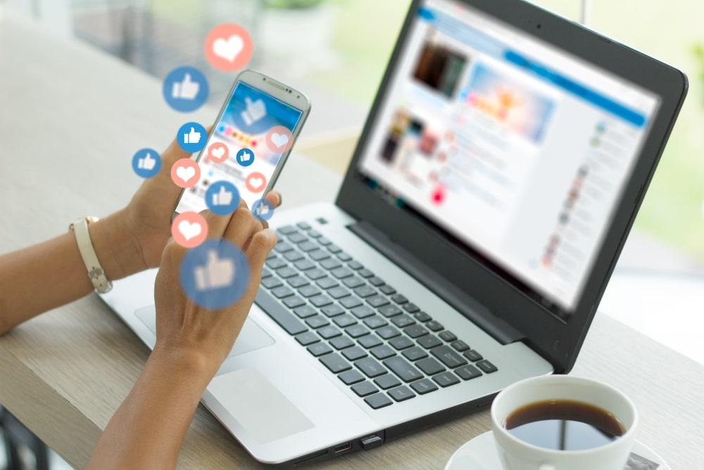 Virtual Social Media Assistant Working on Facebook