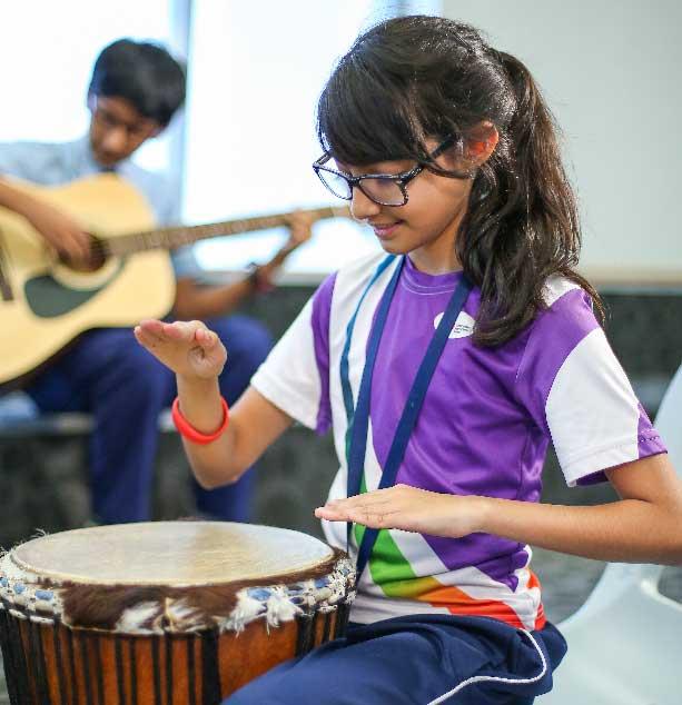 GIIS Abu Dhabi Students Music Class