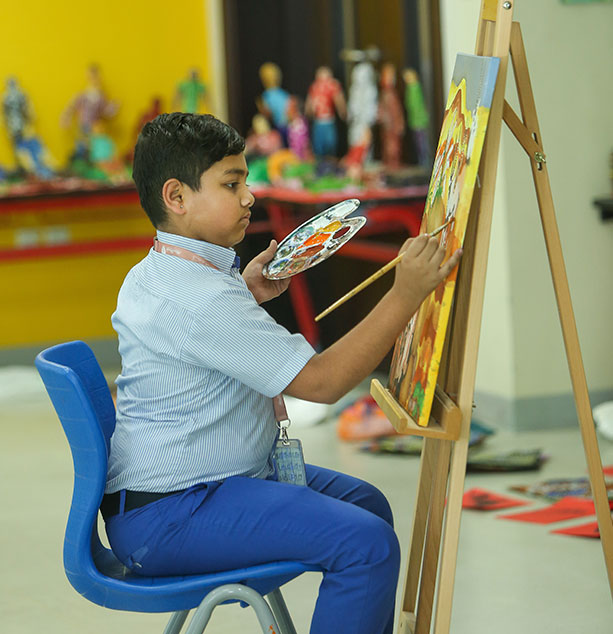 GIIS Abu Dhabi ART Class