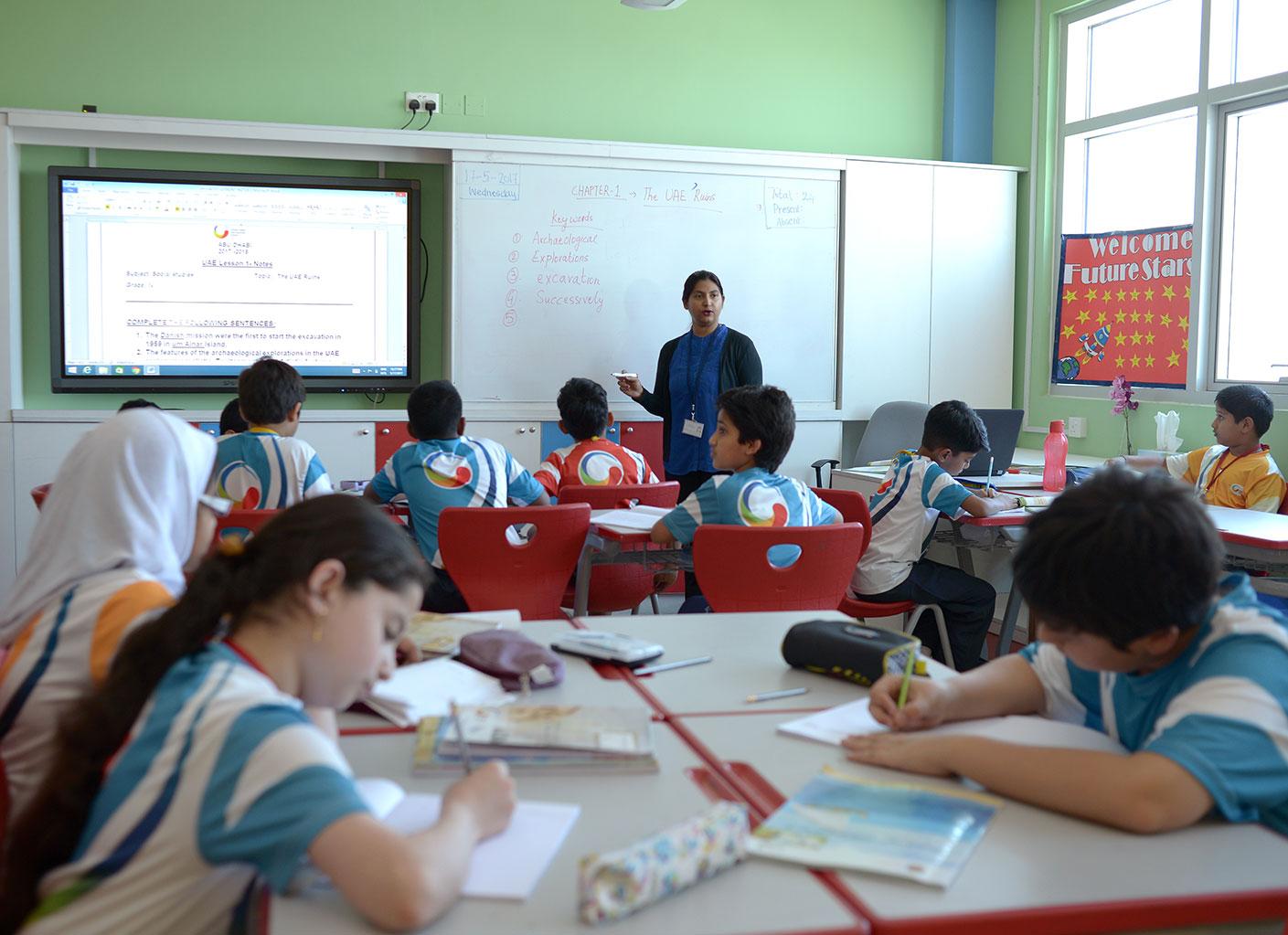 GIIS Abu Dhabi CBSE Faculty