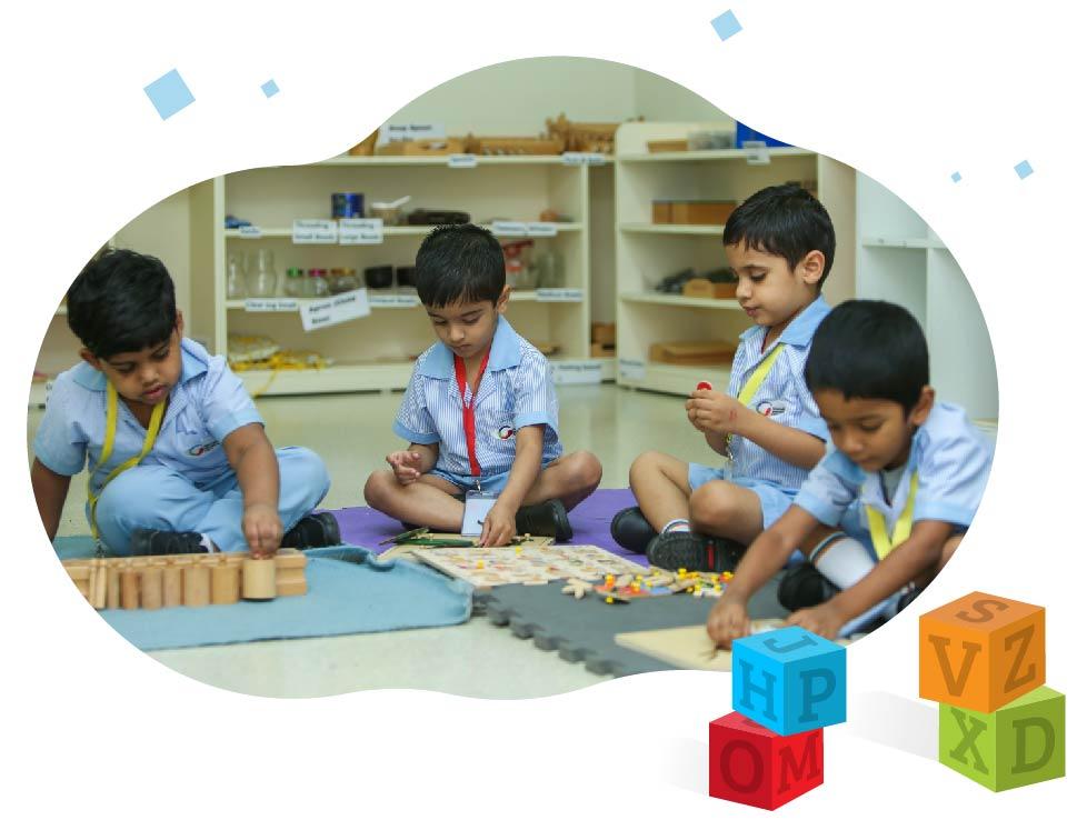 GIIS Montessori Programme with a Plus