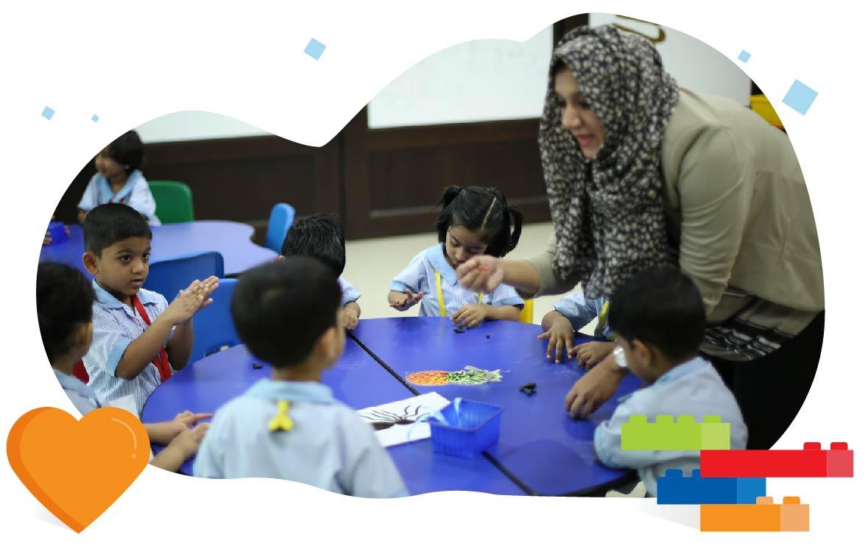 GIIS Abu Dhabi Pre Primary Teachers