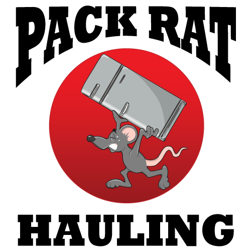 Pack Rat Hauling Logo