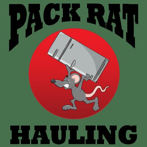 Pack Rat Hauling Logo