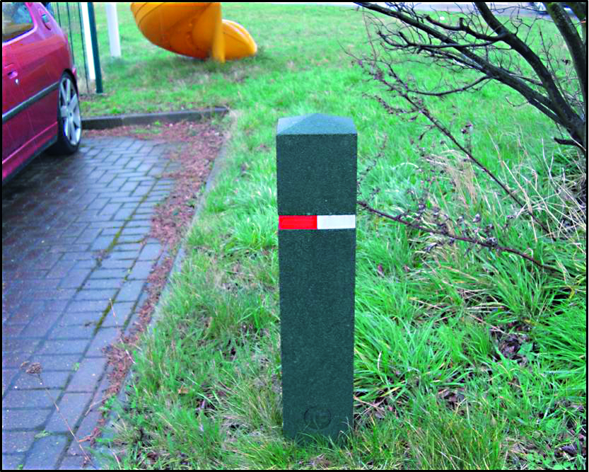 Recycled Rubber Bollards