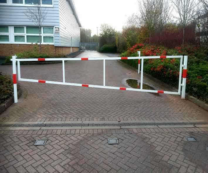 Manual Swing Security Gate
